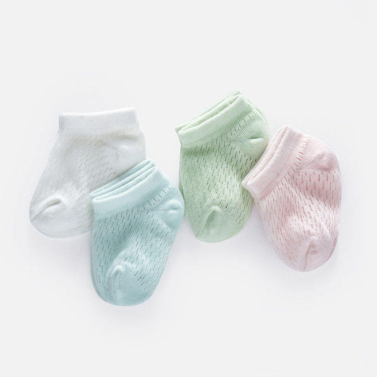 2020 wholesale flattering organic cotton baby socks unisex 3-6 months eco friendly baby socks
