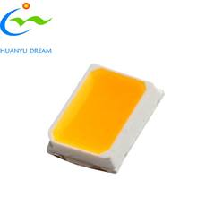 smd 2835 led chip yellow colour  with high cost performance for  indicator light