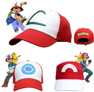 Baseball Cap Anime Pocket Monster Cosplay Kostuums Accessoires Pokemon Hoeden Cap Volwassen Kids Cosplay Hoed Pocket Monster Groothandel