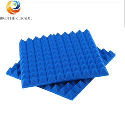 Wholesale Breathable Insulated Soundproof fire-proof wall Pyramidal Acoustic Foam Panels 4x8