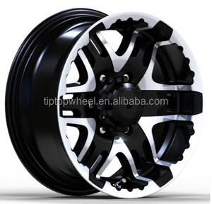 Car parts 15x6.5, 16x8.0 TIPTOP quality wheels for cars 5x114.3/ 6x139.7 emr wheels rims