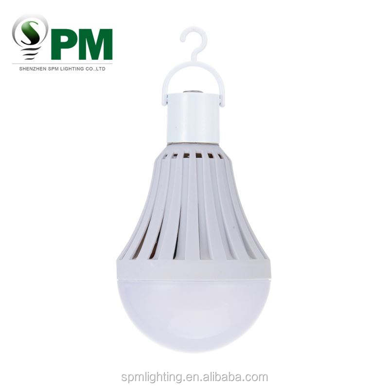 new products 5W 7W 9W 12W RC rechargeable LED emergency light