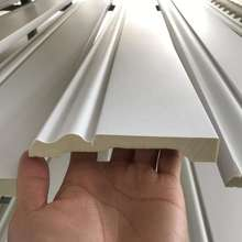 2019 Polyurethane New high-grade building decoration PU baseboard molding