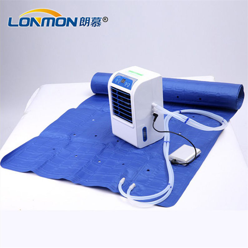 Home Furniture cooling mattress electric air conditioning fan double bed 160cm*140cm cooling systems with mattress pad