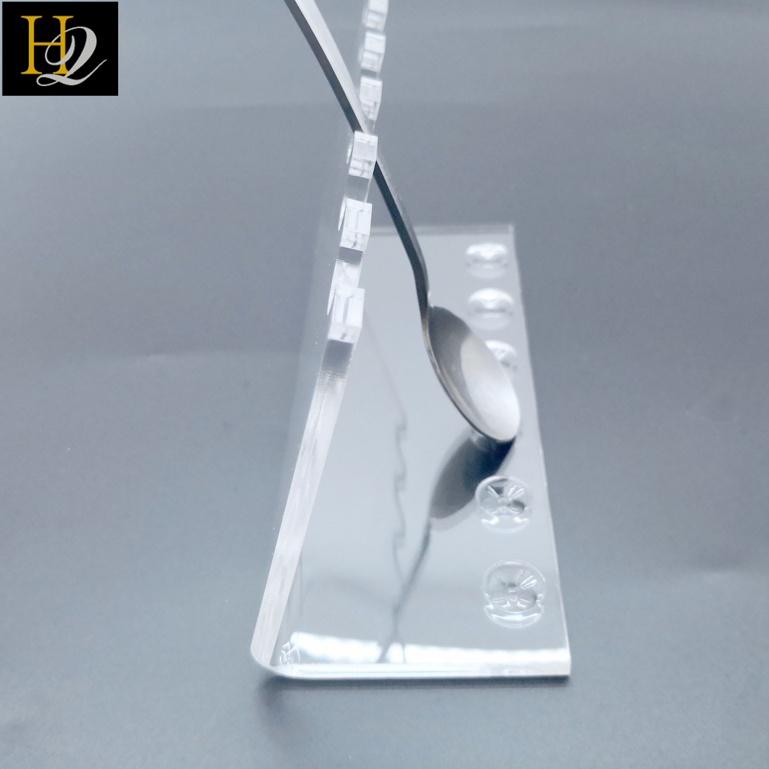 Acrylic Pen Demitasse Spoon Display Stand