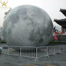 Huge inflatable earth decoration advertising inflatable balloon moon