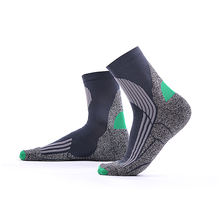 MEIKAN Custom Design Outdoor Running Basketball Socks Athletic Men Custom Compression Sports Socks