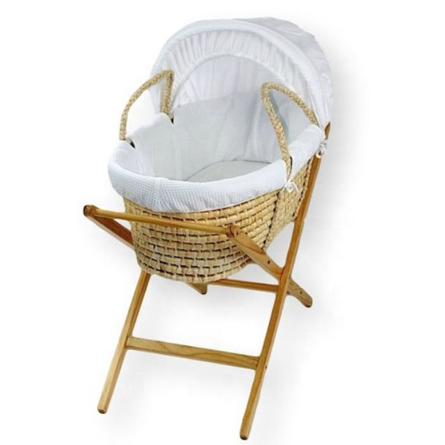 China Wicker Moses Basket