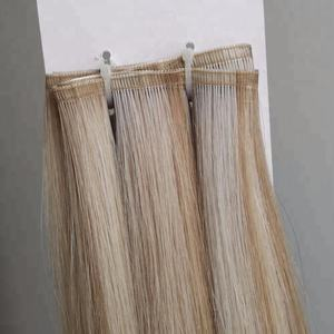 Hottest Products Ombre Silver Cuticle Aligned Weft Hair Extensions