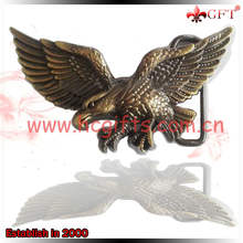 High quality antique design eagle belt buckles with logo