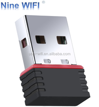 [NineWiFi]Factory 150Mbps 802.11bgn wireless network card wifi receiver mtk 7601 chipset wireless usb wifi adapter