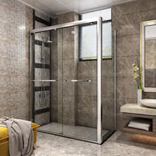 6-10mm 12mm  High quality shower room door  price/ tempered sliding glass shower door