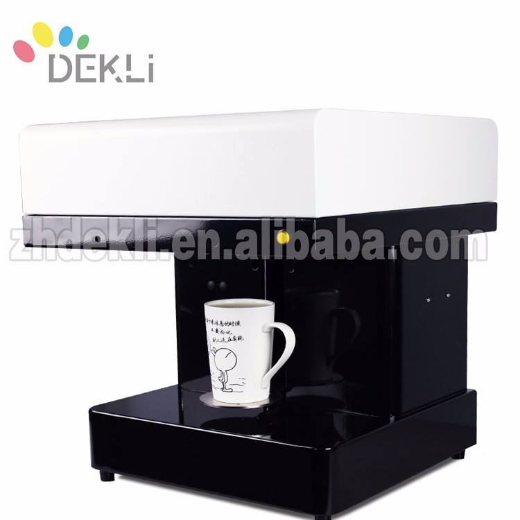 3D Coffee Printer with Edible ink cartridge for HP Head Use