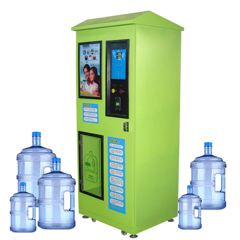 vending machine make more money with ad~design your own new customized eco-friendly business mineral or hydrogen or RO water