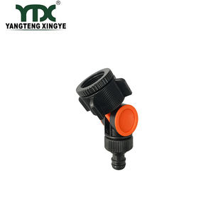 YANGTENG Swivel Tap Connector Water Inlet Quick Coupling Angle Hose Connector Rotates 360 garden accessories