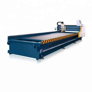 High efficiency copper sheet metal v cutting machine
