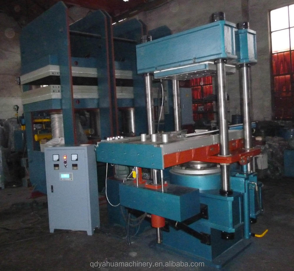 Rubber Machine Manufacture Double Molds Mechanical Tire Vulcanizing Machine