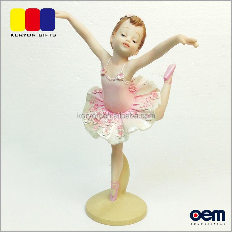 Sexy Beauté Résine <span class=keywords><strong>Artisanat</strong></span> Ange Polyresin <span class=keywords><strong>Ballerine</strong></span> Ballet Danseur Statue