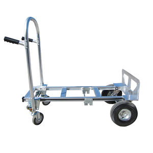 Wholesale convenient warehouse foldable aluminum hand trolley gardening carts