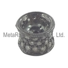 Natural Metal Spacer Diamond Finding Jewelry