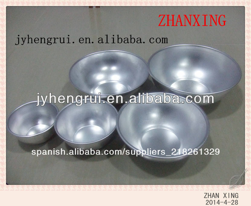 de aluminio de china ronda bowl
