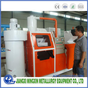 400 Copper cable wire granulator recycling machine