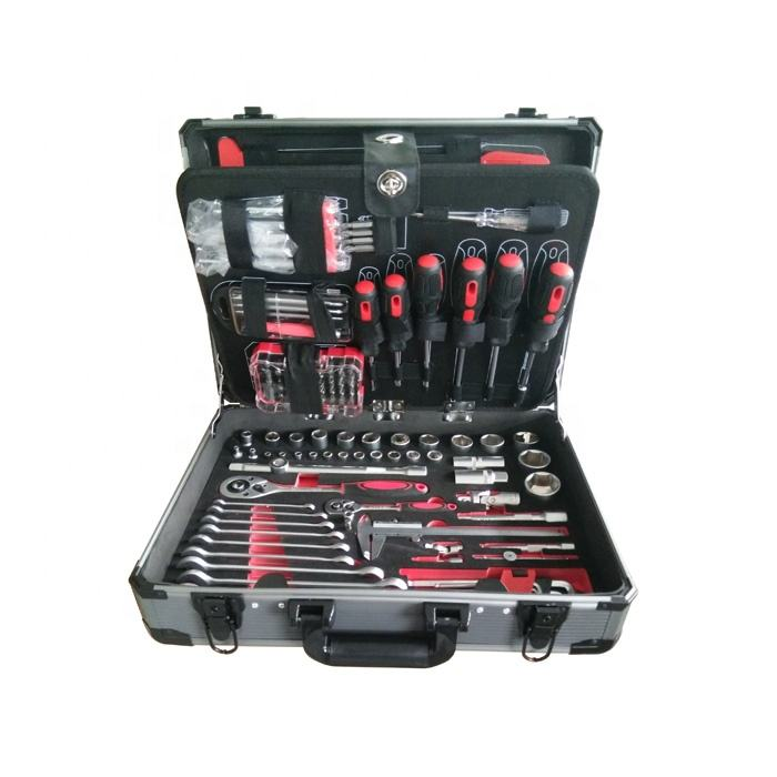 131Pcs Socket Wrench Tools Hand DIY Tools Box