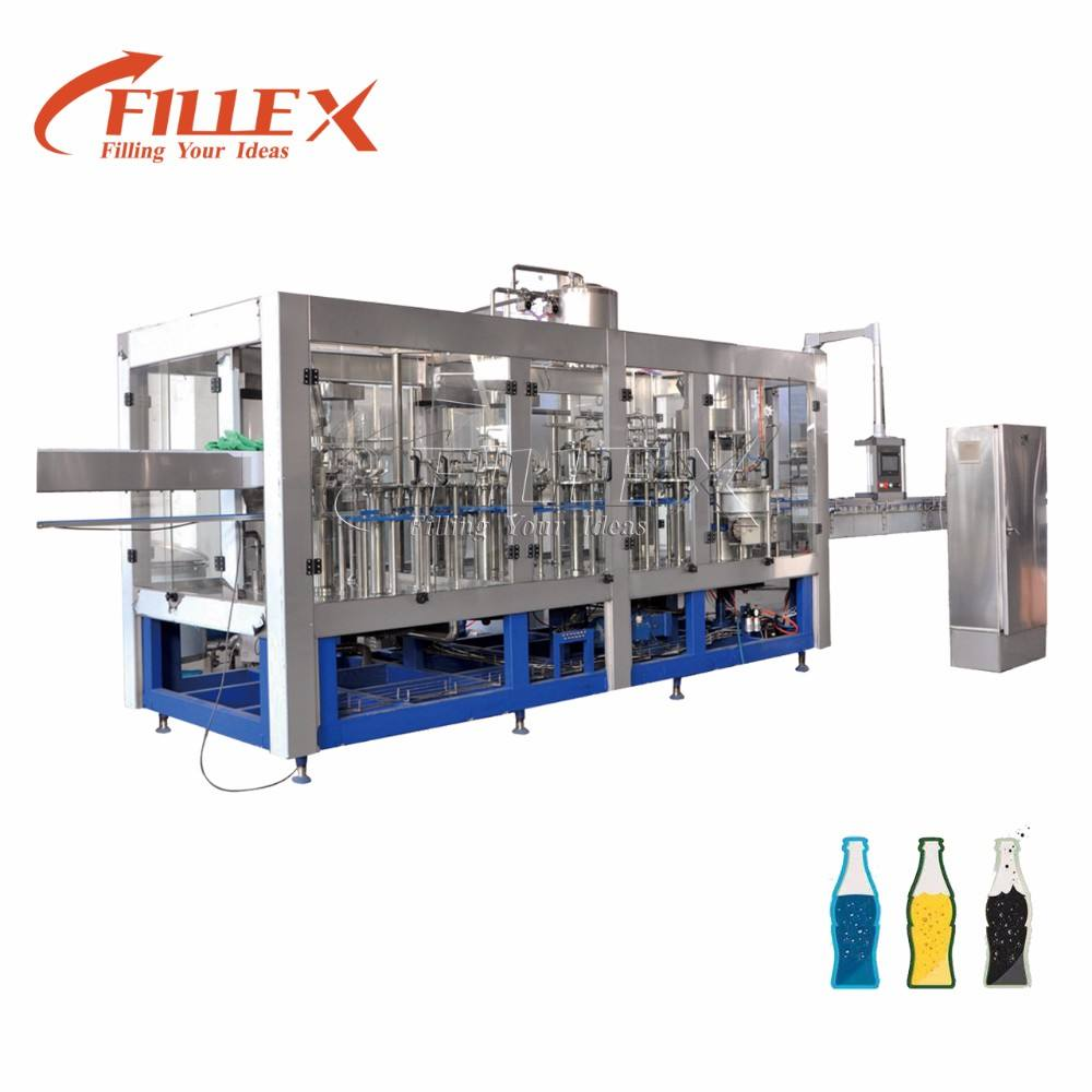 Automatic Fruit Juice Filling Machine Plastic Bottle Water Beverage Machine