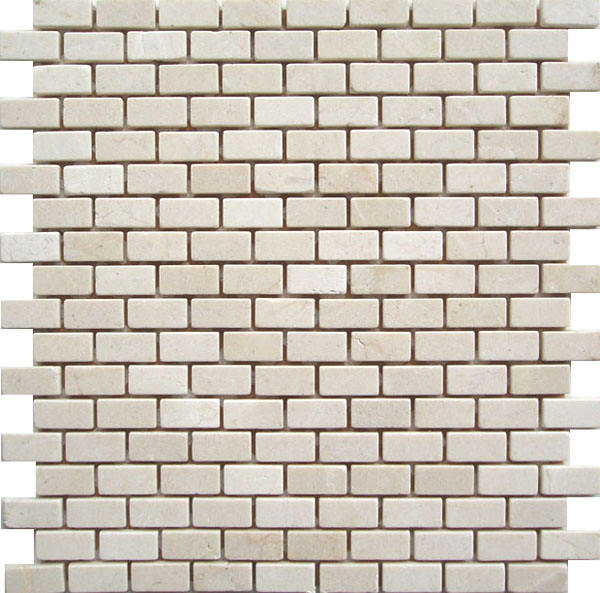 Subway tile crema marfil beige marble kitchen backsplash bathroom mosaic tile flooring carpet cheap tile