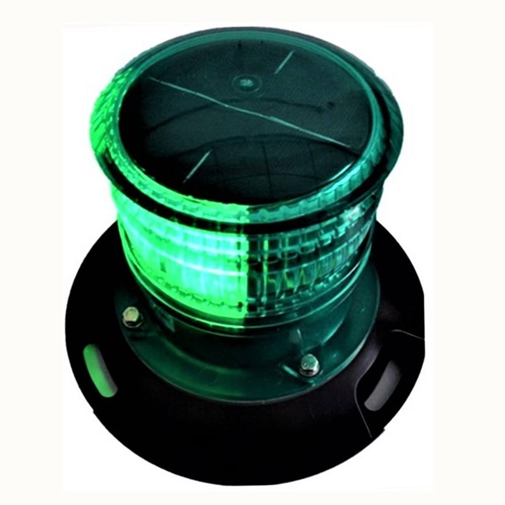 DOUBLEWISE Boat Equipment Yacht LED Solar Marine Stern Navigation Signal Light