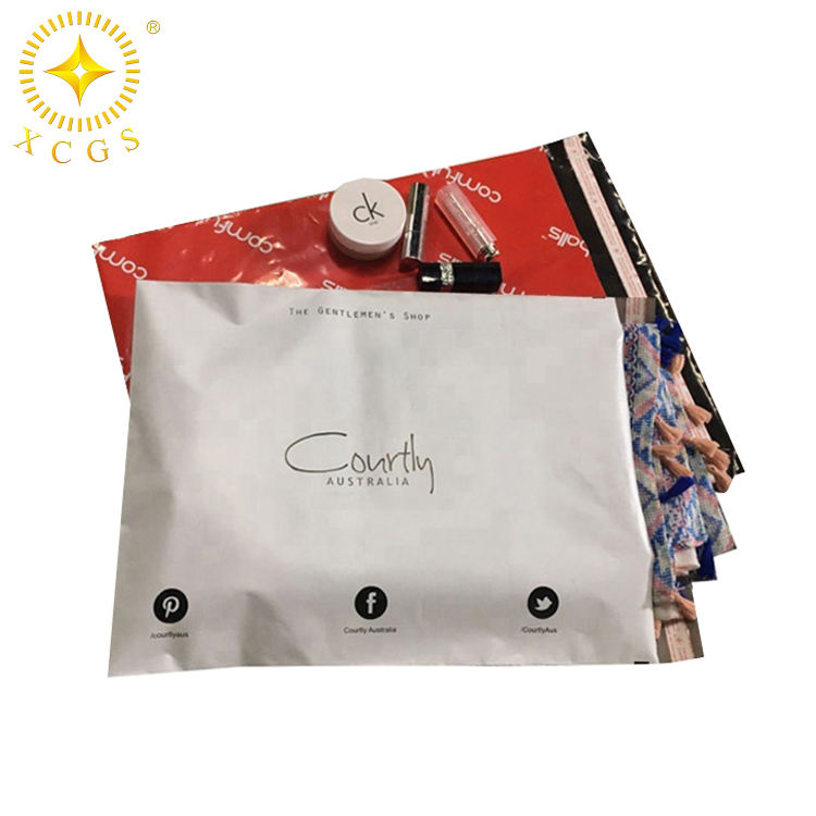 Wholesale OEM custom color own logo printed mailing bags shipping poly mailer for shoe box/clothes
