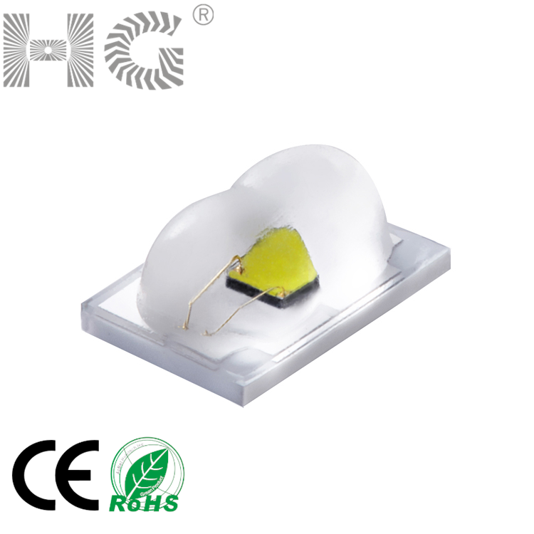 3550ceramic substrate high lumen 1W peanut led diodes high power peanut shape led for street light high-pole lamp tunnel lamp
