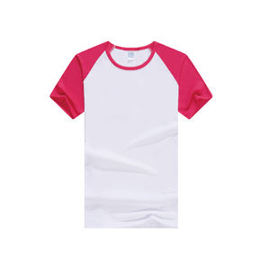Solf Touch t shirt 와 숏 다 색이 sleeve Model Polyester 승화 t shirt 대 한 Kids China 도매 Stock RB-1801B