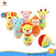 customize animal shape plush bowling toy for baby