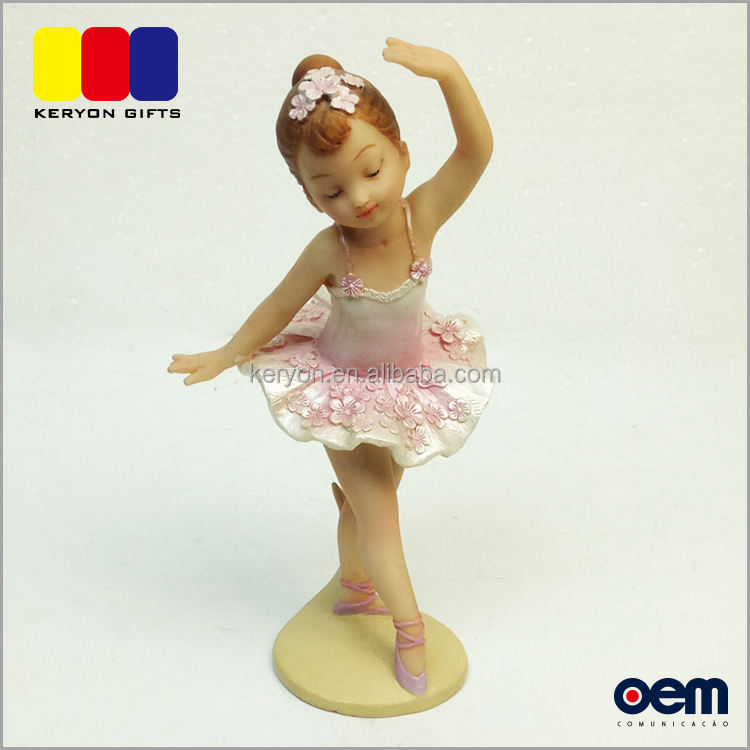 Usine Custom Made <span class=keywords><strong>Ballerine</strong></span> Fille Figurine Salle De Bal De Danse Figurines