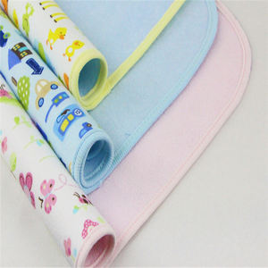 Soft Washable Reusable Printed Baby Diaper with 100% Cotton Double Terry Cloth