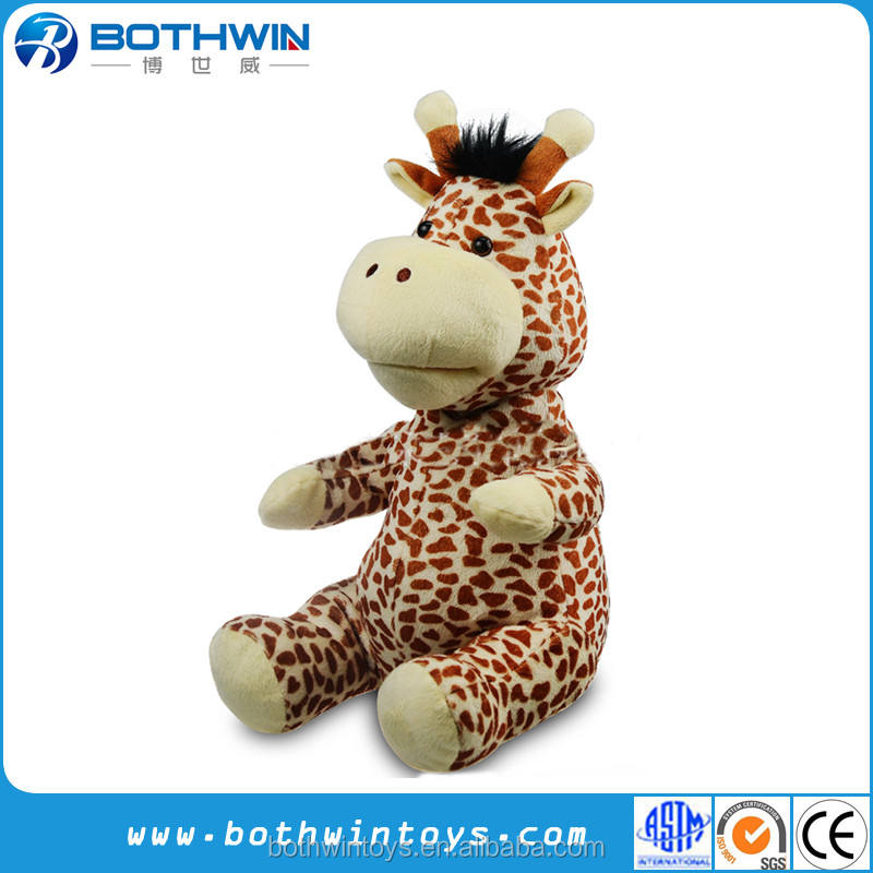 New design repeat talking giraffe toy not hamster