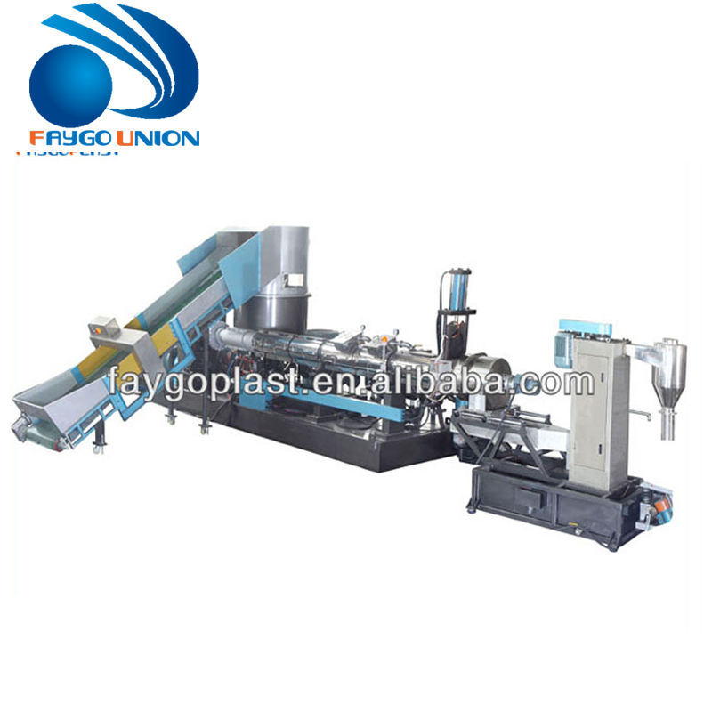 High efficiency china plastic granule raw material machine