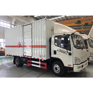Howo brand co2 and gas cylinder transport truck