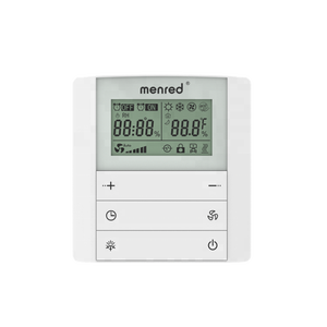 Menred Ls3.42 Unidade Da Bobina do Ventilador de Ar Condicionado Central Termostato Digital Programável digital