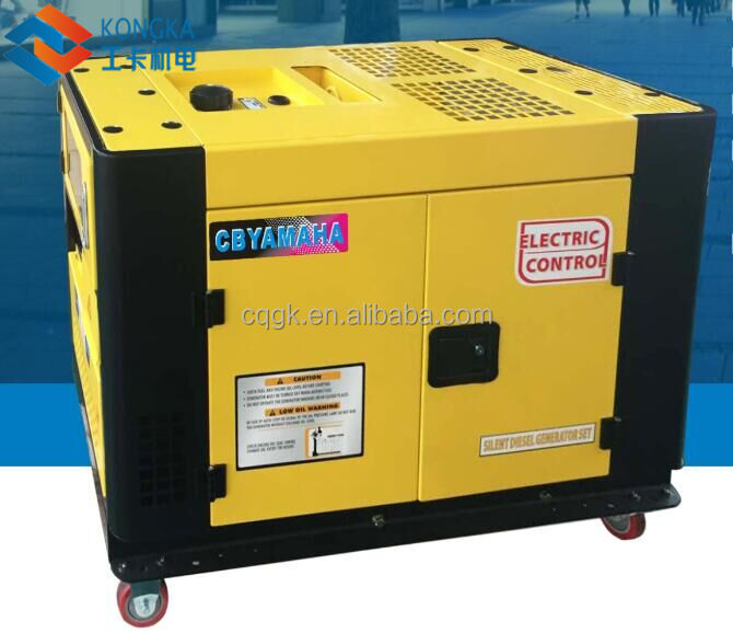 12kva 10kw silent air cooled magnetic power diesel generator price in bangladesh