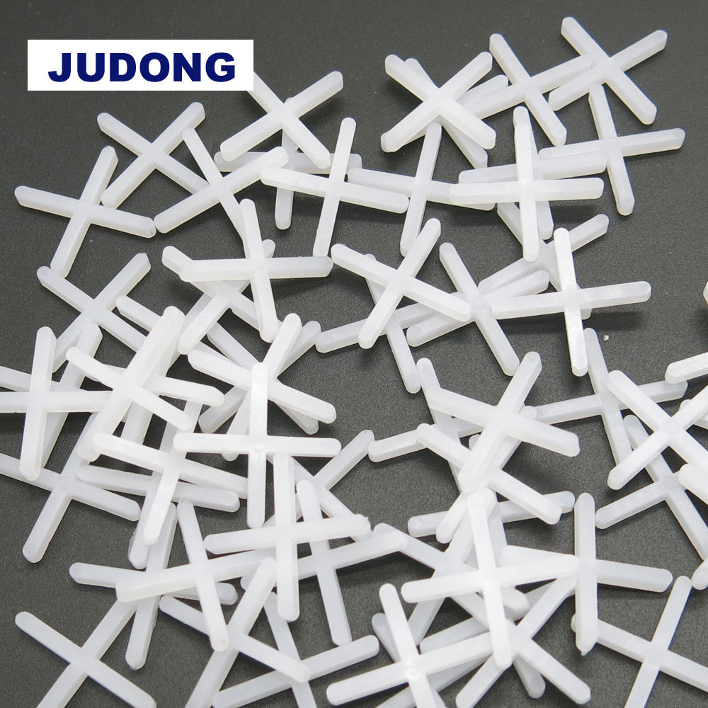 100pcs 1.5mm ceramic plastic tile spacers floor wall tile leveling system plastic spacer cross