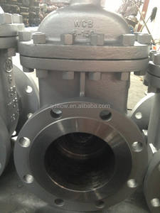 API Flange Gate Valve Carbon Steel Class150 6 Inch