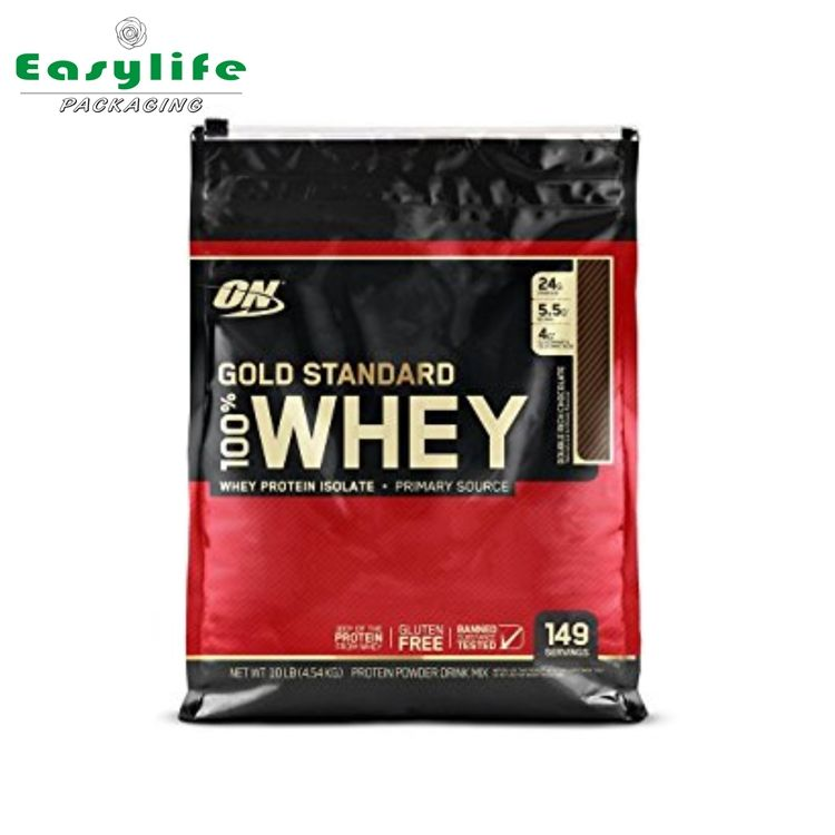 China products 100% whey protein packing bags