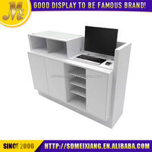MX-WDC035 best design wood material reception desk