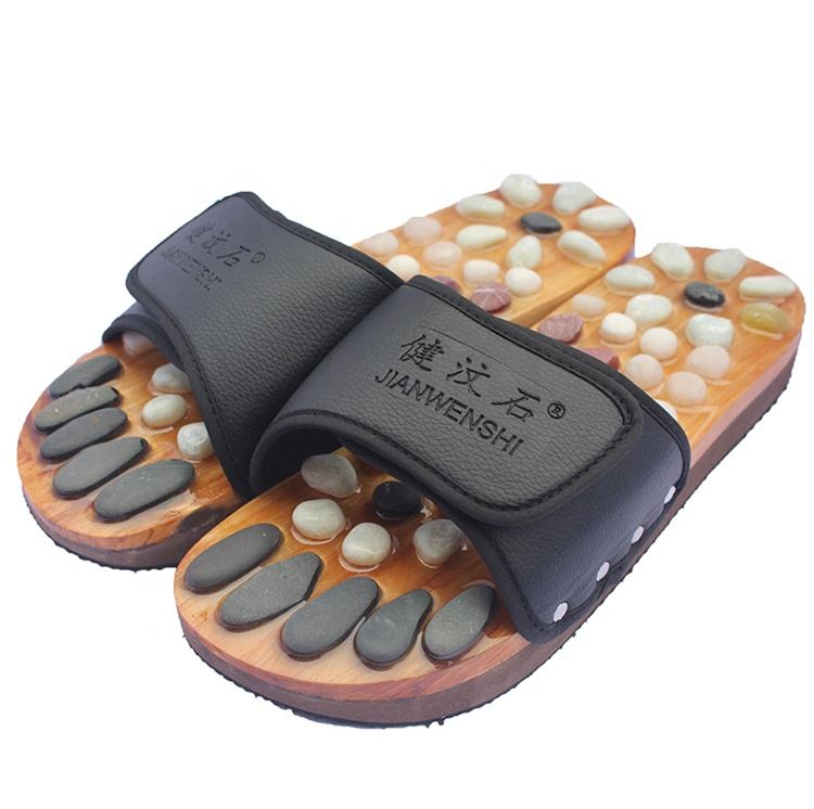Open toe health care product foot massage slipper for sale