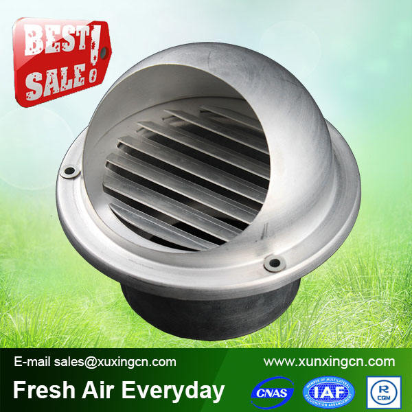 Aluminum stainless steel round home vent air freshener air valve hvac system parts