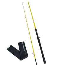 In stock  Chinese Factory Supply OEM 2-section Pure Carbon Boat Big game  Trolling Fishing Rod   Casting