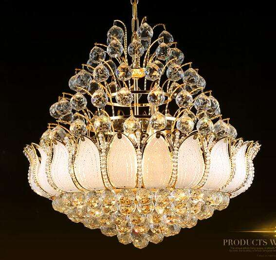 Hotel indoor lighting murano glass chandelier