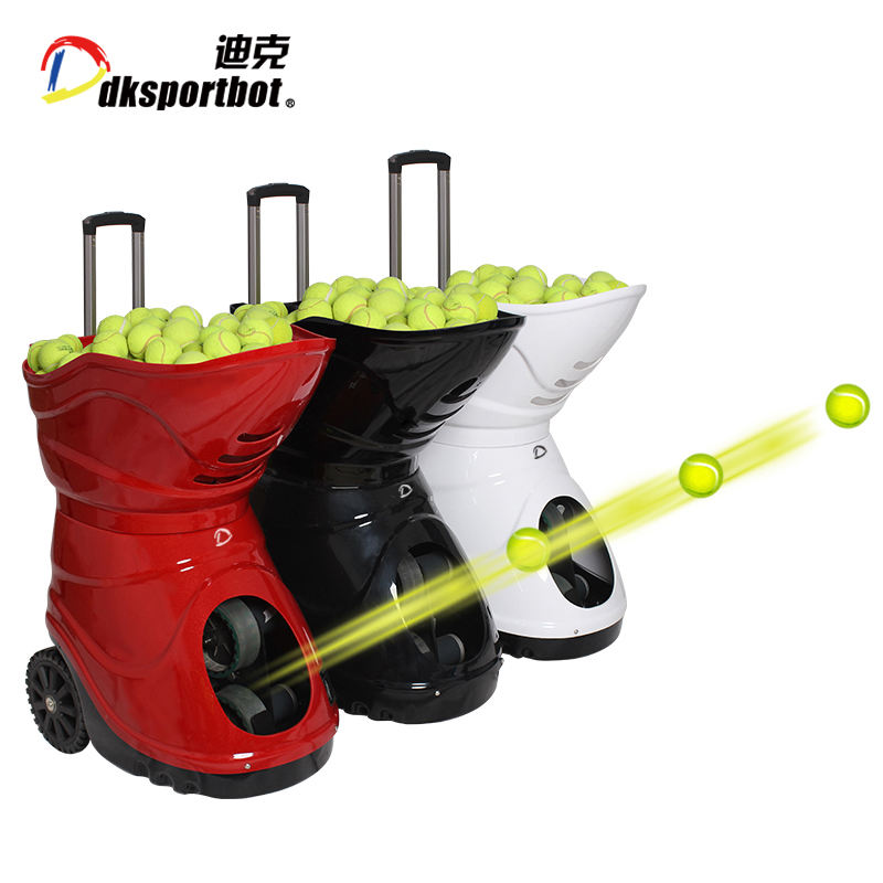 DT2 Tennis ball shooting machine hot selling intelligent tennis ball machine for training